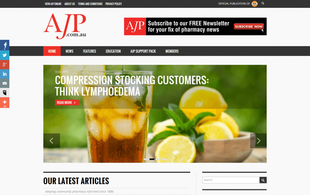 ajp.com.au - Blue Mountains Web Design