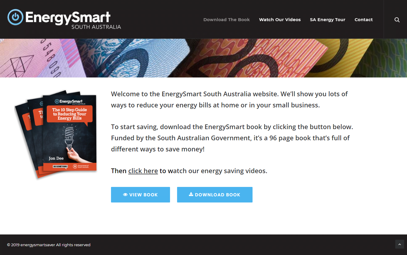energysmartsaver.com.au - Website by Blue Mountains Web Design