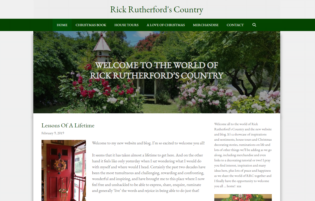 rickrutherford.com – Website by Blue Mountains Web Design