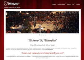Tahmour – Website by Blue Mountains Web Design